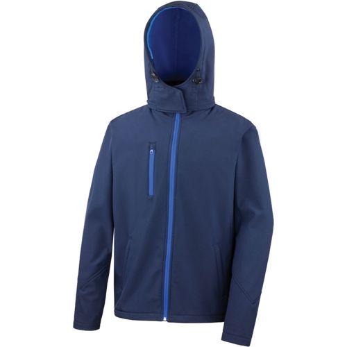 Mens TX Performance Hooded Soft Shell Jacket