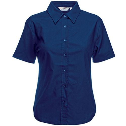 CHEMISE FEMME MANCHES COURTES OXFORD (65-000-0)