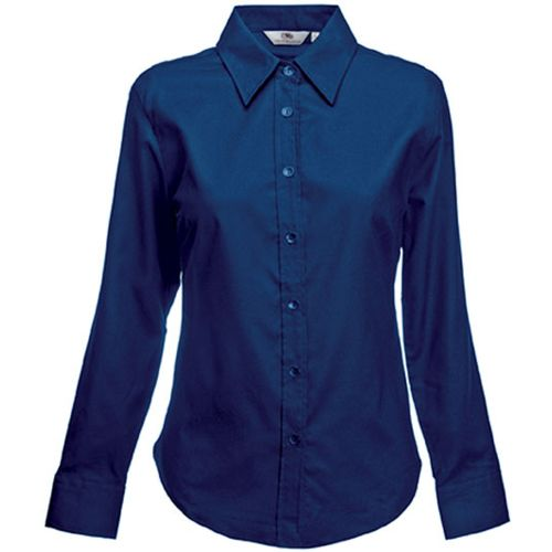 CHEMISE FEMME MANCHES LONGUES OXFORD (65-002-0)