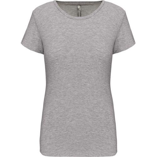 Ladies' crew neck short-sleeved t-shirt