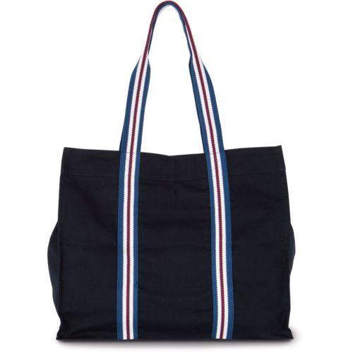 Fashion shopping bag in organic cotton