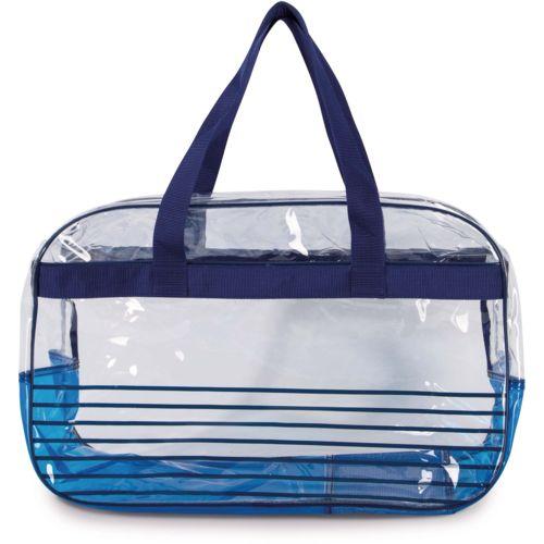 Beach bag with anti-sand system