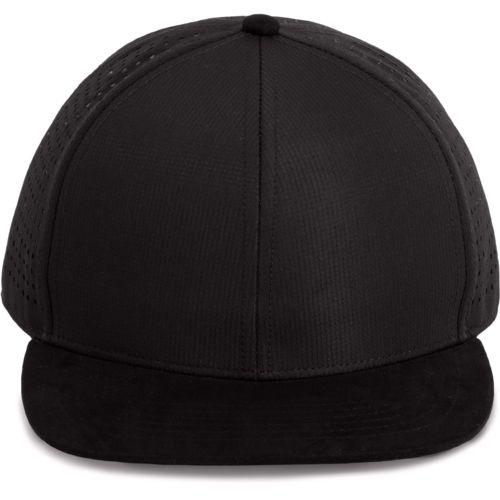 Micro-perforated Snapback cap - 6panels