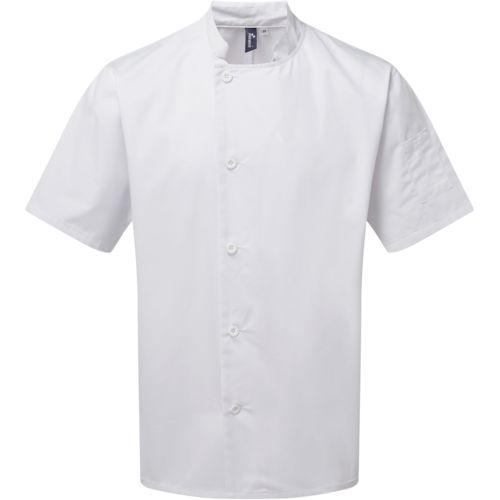 "Veste chef cuisinier manches courtes ""Essential"""