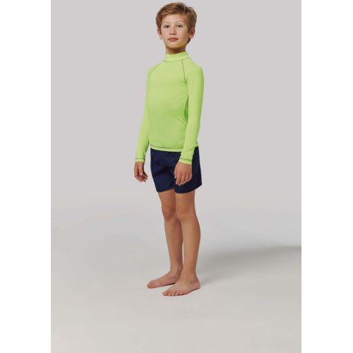 T-shirt technique à manches longues avec protection anti-UV enfant