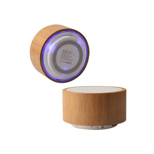 Enceinte Bluetooth Bambou