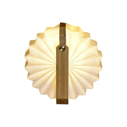 Lumière de poignée pliante