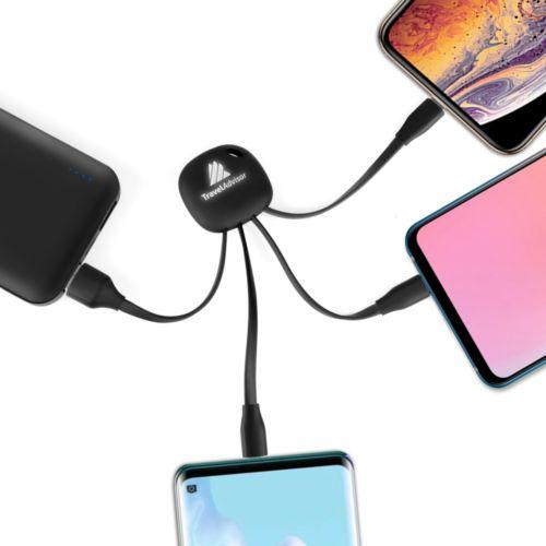 Câbles de rechargement Android et  IOS et Typre C