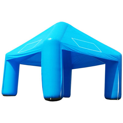 Tente gonflable Quadri