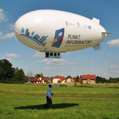Dirigeable helium SOBELPU SPRL objet publicitaire personnalisable Belgique