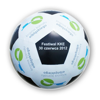 Ballon de foot gonflable sur mesure