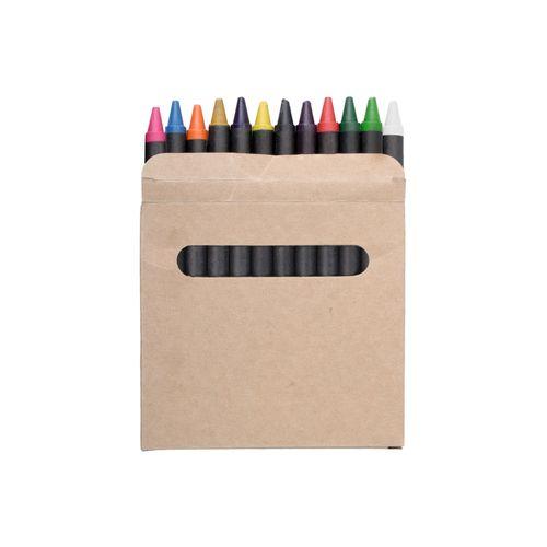 set de 12 pastels de couleurs Lola