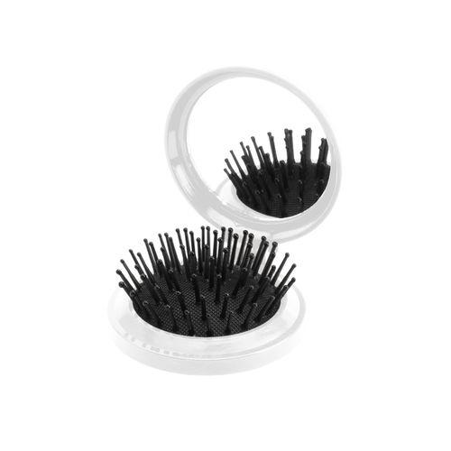 miroir avec brosse à cheveux Glance