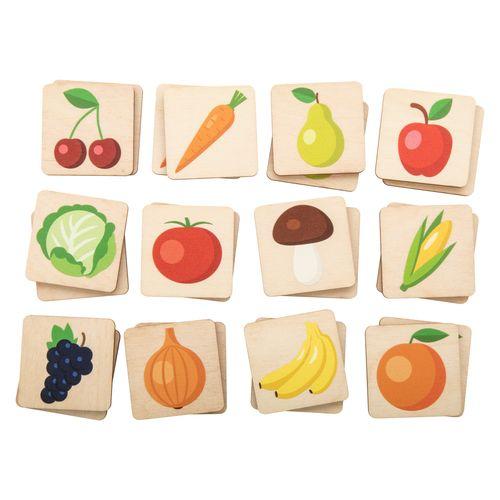 jeu de memory, fruits et légumes Immermor