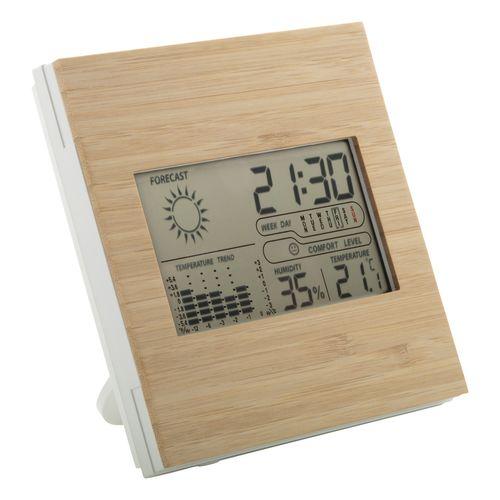 Station météo en bambou Boocast