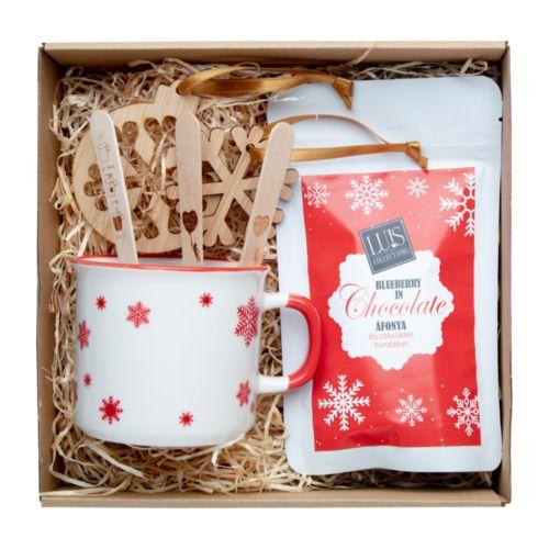 Coffret cadeau chocolat chaud