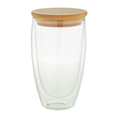Mug thermos en verre