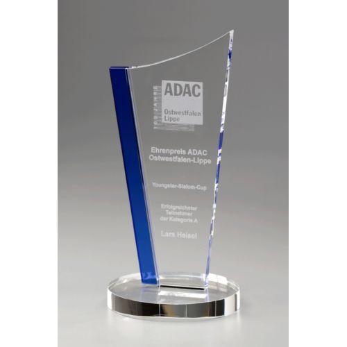 Trophée Indigo Crystal Drive - 200 mm