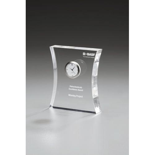 Trophée avec horloge 135 mm