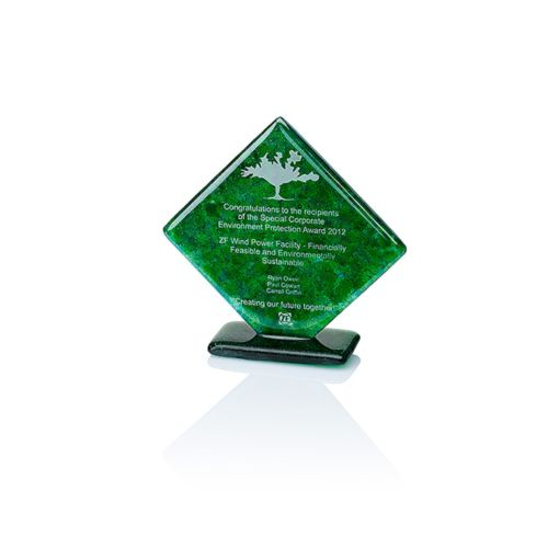 Trophée Green Diamond Award
