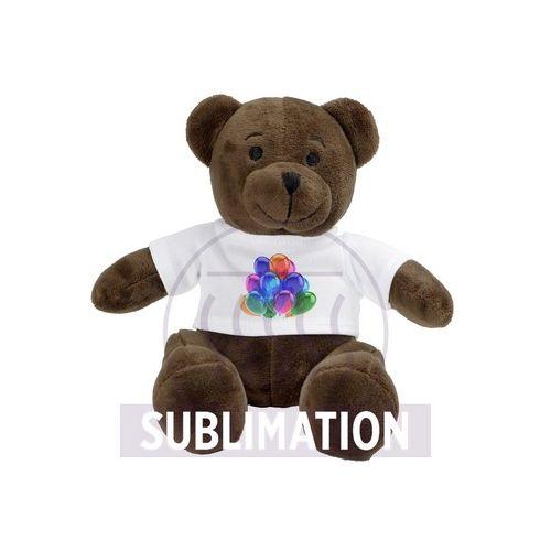 Plush teddy bear Siddy Brown