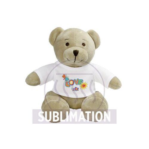 Plush teddy bear Siddy Cream