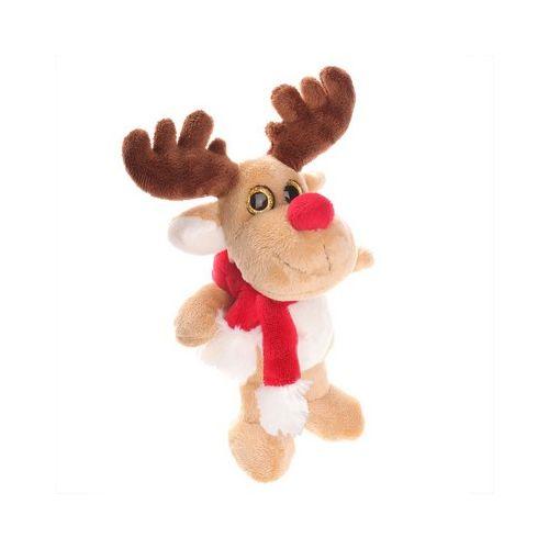 Plush reindeer Remo Cream