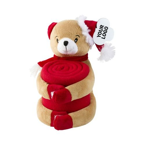 Plush toy with blanket