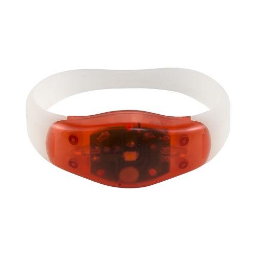 Wristband with LED light
