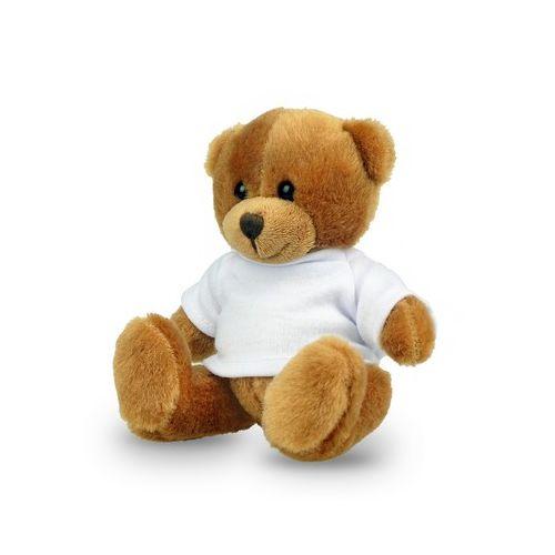 RPET plush teddy bear Nicky Brown Junior R