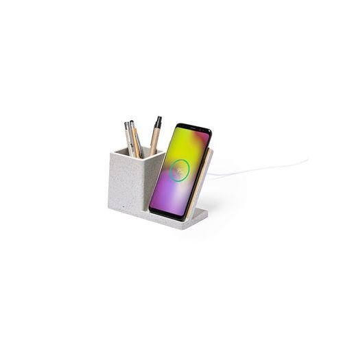 Wireless charger 10W, pen holder