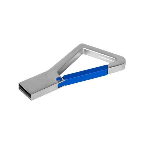 USB memory stick with carabiner