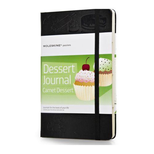 Moleskine Dessert Journal, special notebook