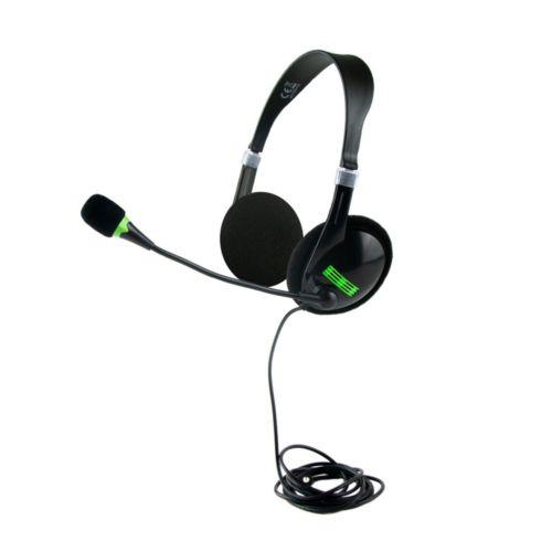 Headset: headphones with microphone