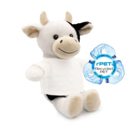 RPET plush cow Mootsy
