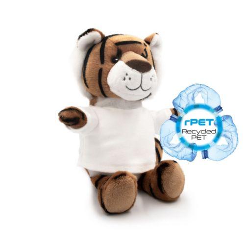 RPET plush tiger Finn