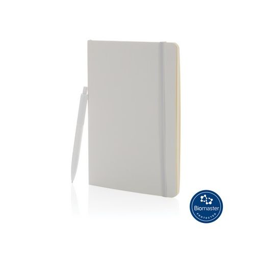 Antibacterial Notepad A5 with ballpoint pen
