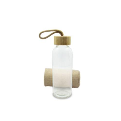 Glass sports bottle 410 ml
