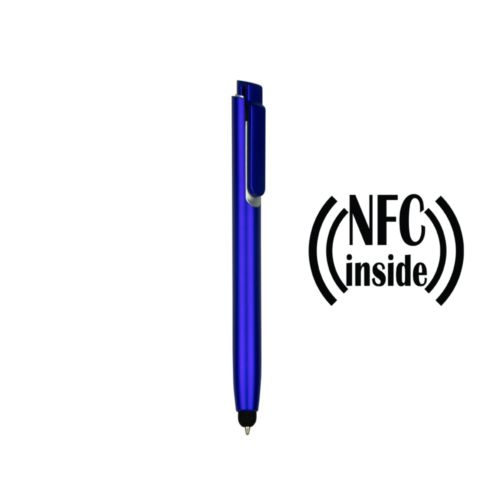 Ball pen with NFC chip, touch pen