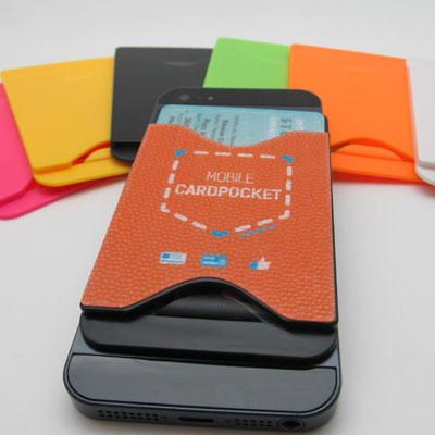 Porte-carte pour téléphone anti-dérapant