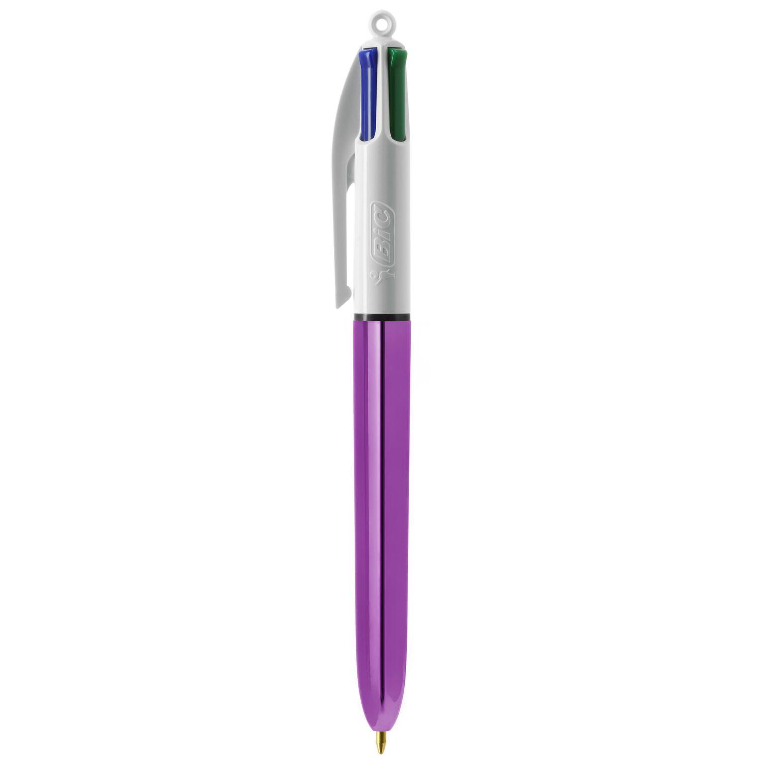 BIC® 4 Colours Shine bille
