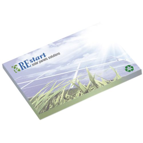BIC® 101 mm x 75 mm 25 Sheet Adhesive Notepads Ecolutions® - ISOCOM - OBJETS ET TEXTILES PERSONNALISES - NANTES
