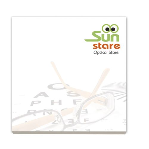 BIC® 75 mm x 75 mm 50 Sheet Adhesive Notepads Ecolutions®