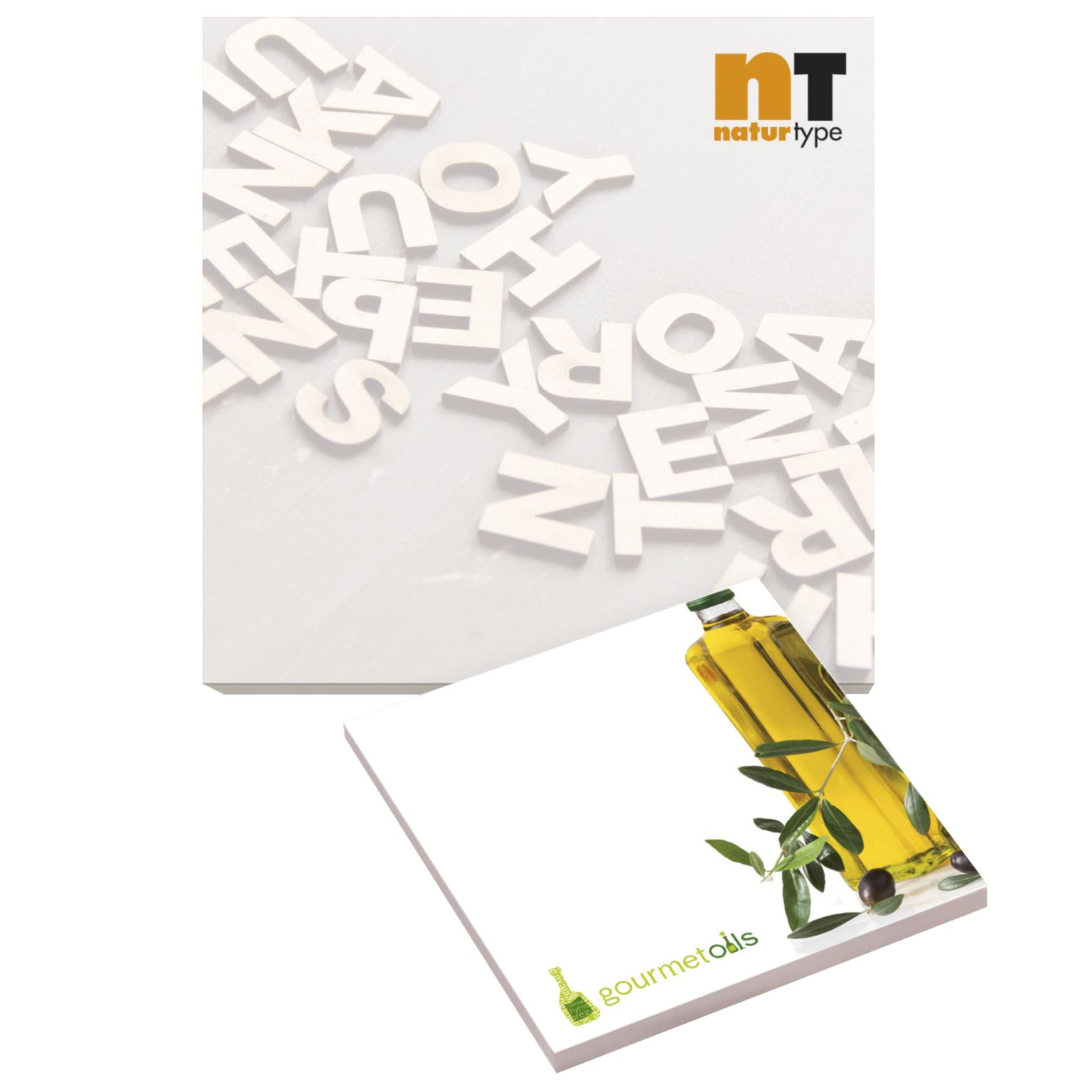 BIC® 101 mm x 101 mm 50 Sheet Adhesive Notepads Ecolutions®