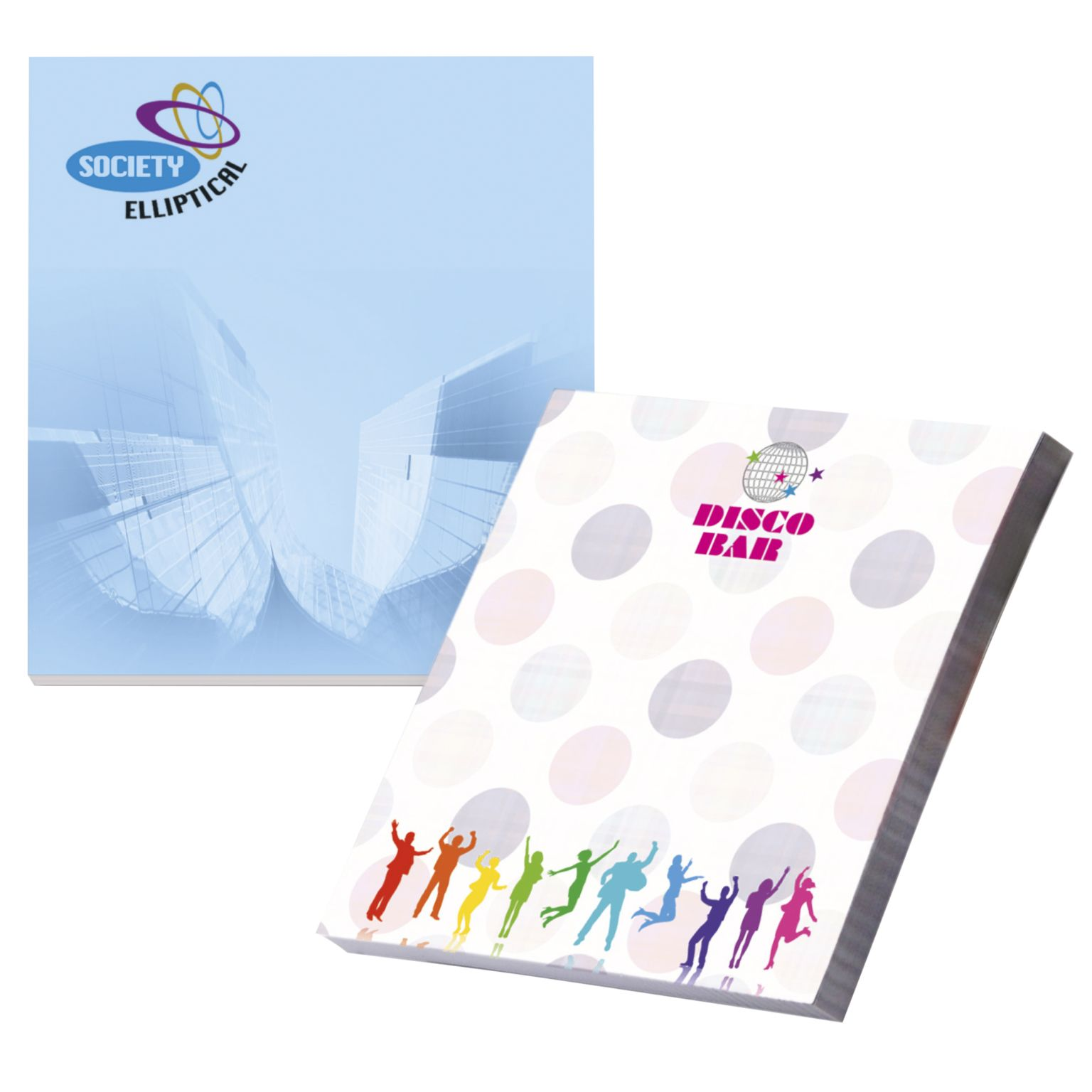 BIC® 50 mm x 75 mm 50 Sheet Adhesive Notepads Ecolutions®