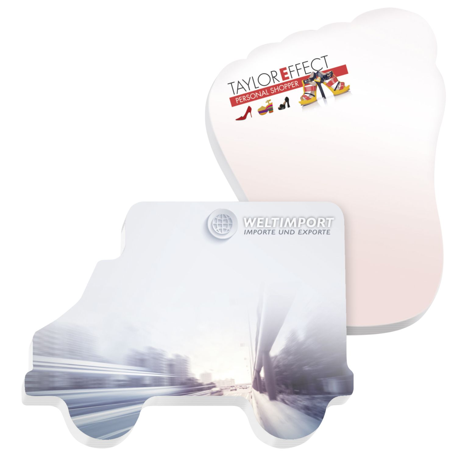 BIC® 101 mm x 75 mm 50 Sheet Adhesive Die Cut Notepads Ecolutions®