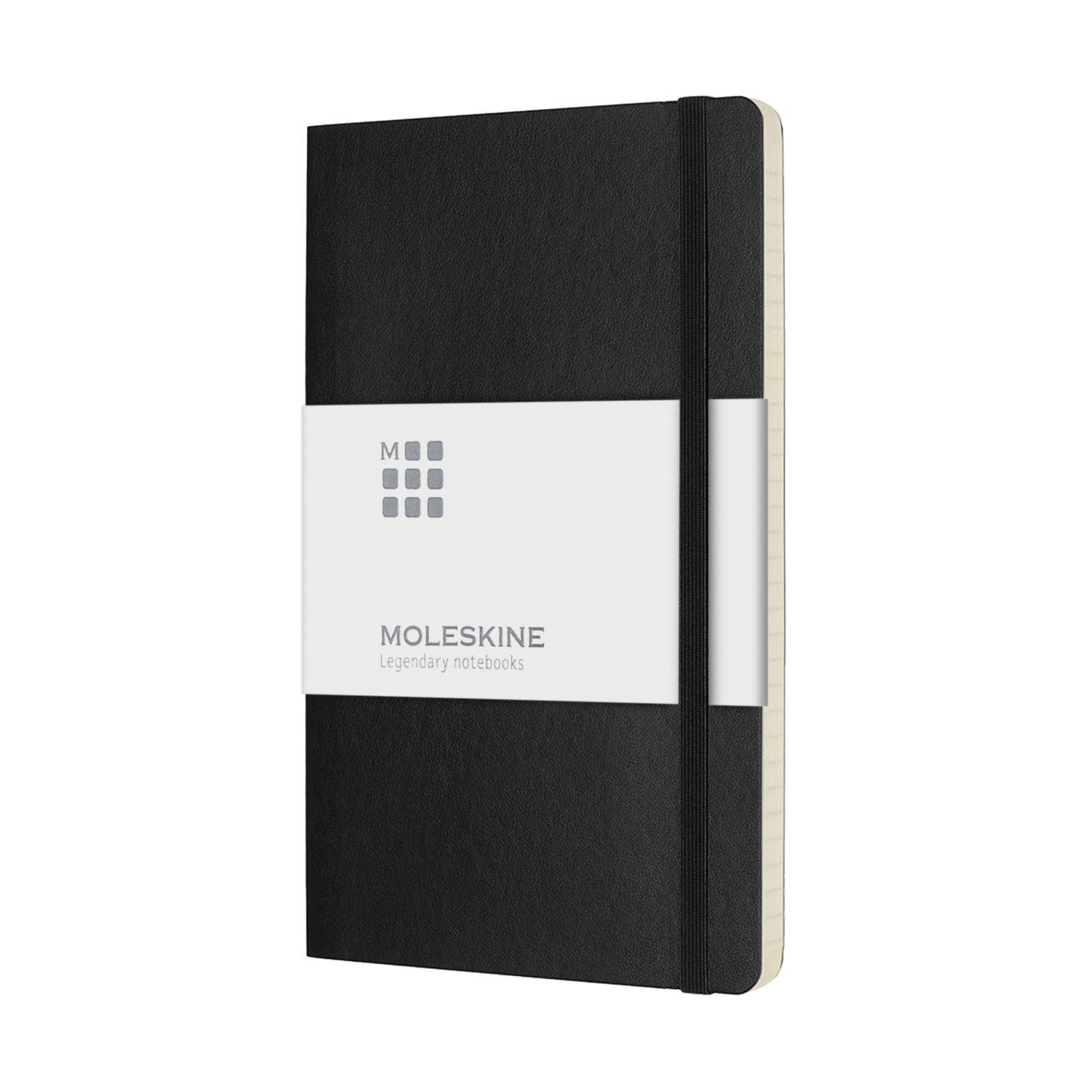MOLESKINE® | Carnet de poche avec couverture souple et papier à rayures publicitaire personnalisé annecy génève chambéry lyon
