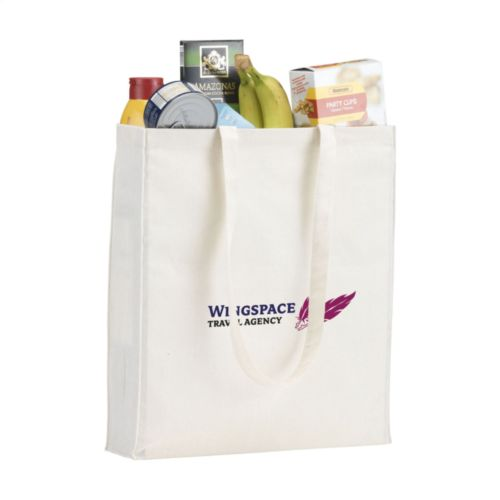 Natural Square Bag sac en coton (165 g/m²)