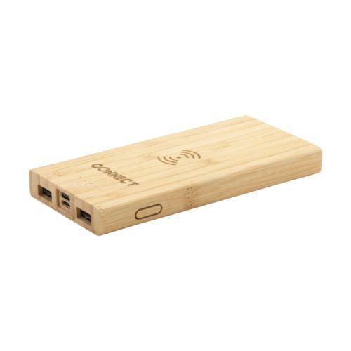 Bamboo 8000 Wireless Powerbank wireless charger