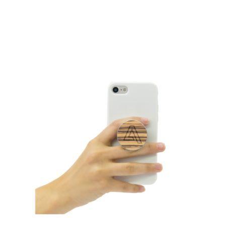 PopSockets® Wood support pour téléphone